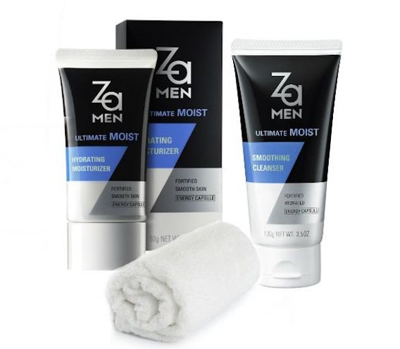 Review: ZA for Men's Ultimate Moist Grooming Product Line
